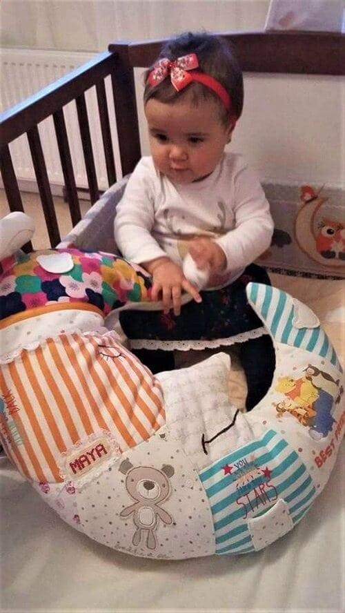 opinia klienta dziewczynka z poduszka ksiezyc w lozeczku