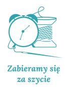 grafika zegar szpula nici i igla